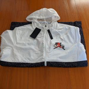 Mens Jordan Mashup Jumpman windwear fullzip hoodie